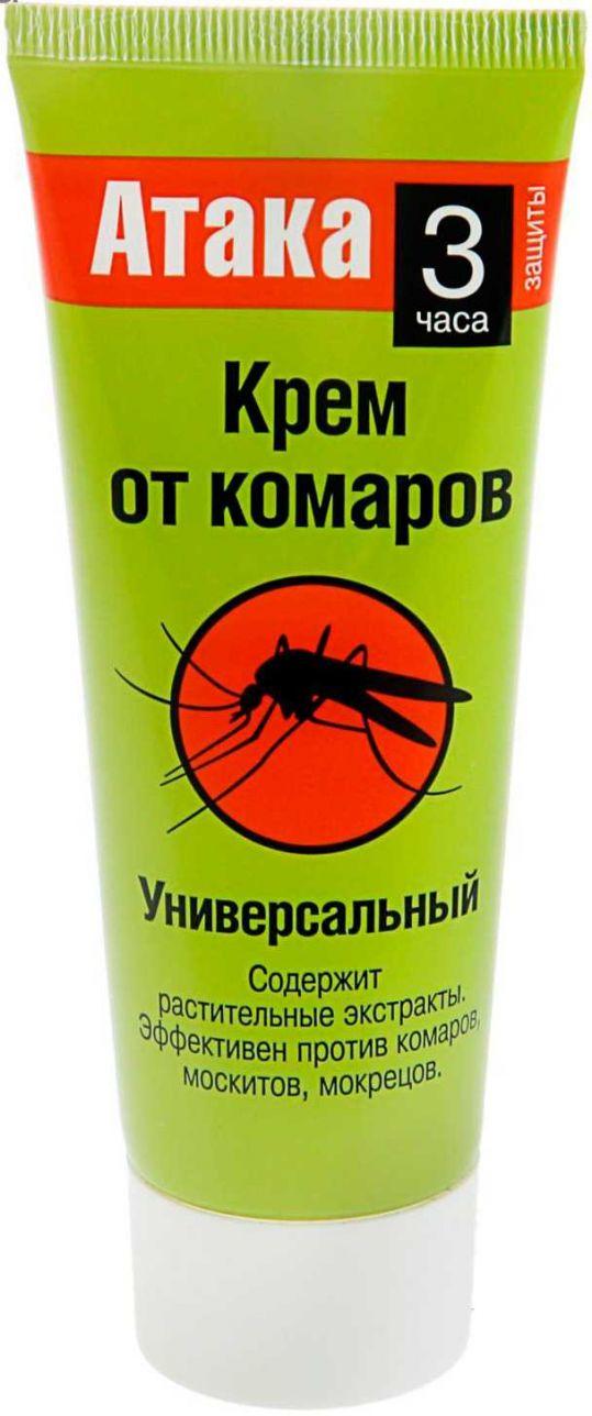 Атака крем от комаров универсальный 75мл, фото №1