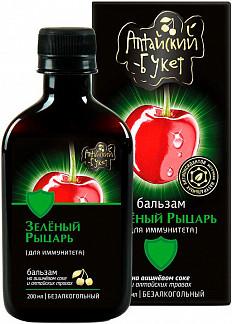 Бальзам алтайский букет №4 зеленый рыцарь 200мл