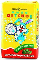 Невская косметика мыло детское антибактериальное подорожник/чайное дерево 90г