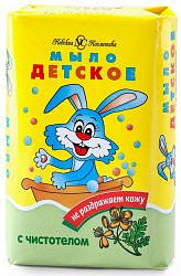 Невская косметика мыло детское чистотел 90г