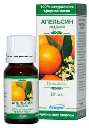 Аспера масло эфирное апельсин сладкий 10мл