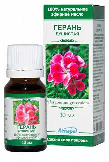 Аспера масло эфирное герань 10мл
