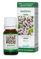Аспера масло эфирное майоран 10мл