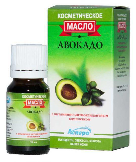 Аспера масло косметическое авокадо 10мл, фото №1