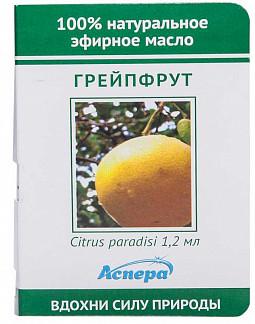 Аспера масло эфирное грейпфрут (миниатюра) 1,2мл
