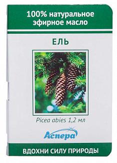 Аспера масло эфирное ель (миниатюра) 1,2мл