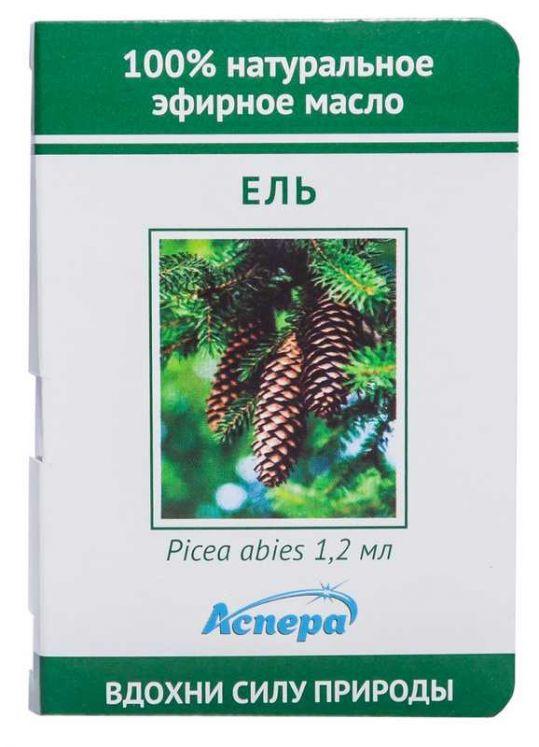 Аспера масло эфирное ель (миниатюра) 1,2мл, фото №1