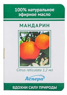 Аспера масло эфирное мандарин (миниатюра) 1,2мл