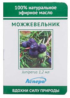 Аспера масло эфирное можжевельник (миниатюра) 1,2мл