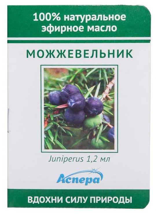 Аспера масло эфирное можжевельник (миниатюра) 1,2мл, фото №1