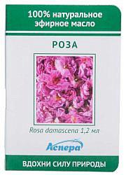 Аспера масло эфирное роза (миниатюра) 1,2мл