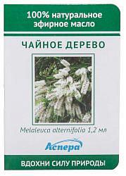Аспера масло эфирное чайное дерево (миниатюра) 1,2мл