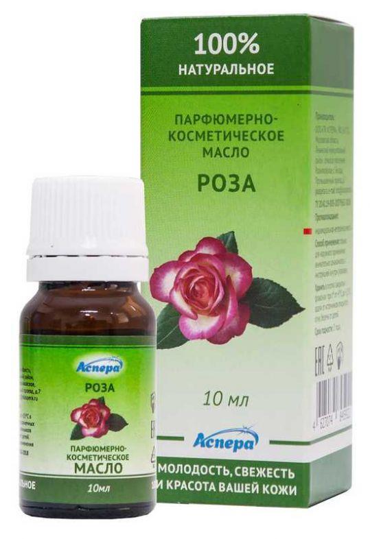 Аспера масло парфюмерно-косметическое роза 10мл, фото №1