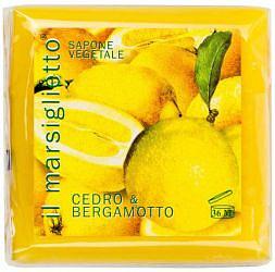 Нести данте мыло лимон/бергамот 100г