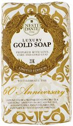 Нести данте мыло твердое юбилейное золотое 250г