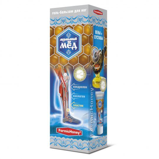 Муравьиный мед гель-бальзам для ног с хондролоном 70г, фото №1