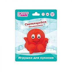 Лабби 13829 игрушка для купания светящийся осьминожек с 36 месяцев