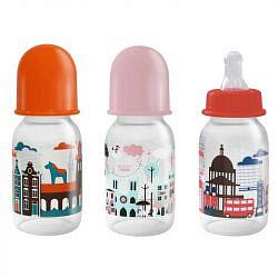 Лабби бутылочка с силиконовой соской я люблю 0+ арт.12020 120мл