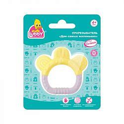 Лабби игрушка-прорезыватель для самых маленьких 4+ арт.16034 gold list ag