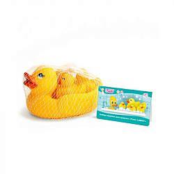 Лабби набор игрушек для купания утята 12+ арт. 13834