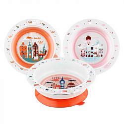 Лабби тарелка для кормления на присоске любимая 6+ арт.13953