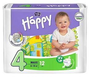 Белла беби хеппи подгузники макси 8-18кг 12 шт.