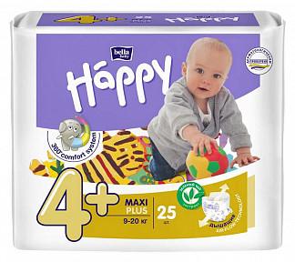Белла беби хеппи подгузники макси плюс 9-20кг 25 шт.