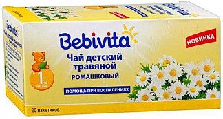 Бэбивита чай ромашковый 4+ 200г