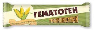 Гематоген традиционный+ с воздушной кукурузой 35г