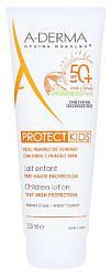 Адерма протект кидс лосьон солнцезащитный для детей spf50+ 250мл