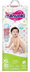 Мануоки трусики-подгузники детские размер xl 12+кг 38 шт.