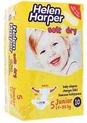 Хелен харпер беби подгузники джуниор софт энд драй 15-25кг 10 шт.