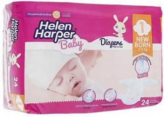 Хелен харпер беби подгузники для новорожденных 2-5кг 24 шт.