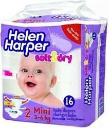 Хелен харпер подгузники софт энд драй мини 3-6кг №16