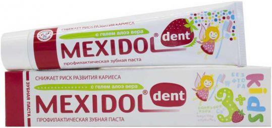 Мексидол дент зубная паста кидс 3+ 45г, фото №1