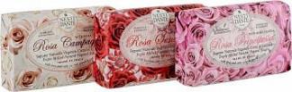 Нести данте набор мыла роза принцесса 150г + роза чувственная 150г + роза шампунь 150г