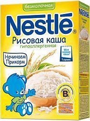 Нестле каша безмолочная рисовая с бифидоб/вит 4+ 200г