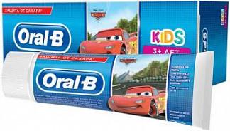 Орал-би зубная паста детская кидс 3+ легкий вкус 75мл