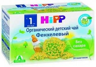 Хипп чай детский органический фенхелевый 1+ 1,5г 20 шт.