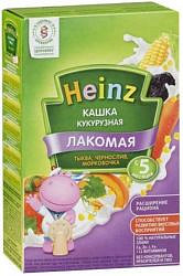 Хайнц каша кукурузная лакомая тыква/чернослив/морковь 5+ 200г