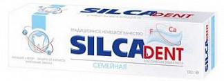 Силкадент (silcadent) зубная паста семейная кальций+фтор защита от кариеса 130г арт 600024