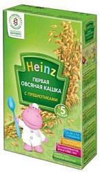 Хайнц (heinz) каша овсяная с пребиотиками 180г 5+