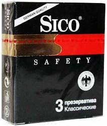 Сико презервативы сафети 3 шт. +1 в подарок