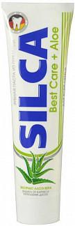Силка зубная паста бест кеа + алоэ 100мл