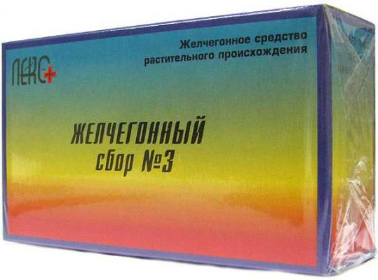 Сбор желчегонный n3 n20 фильтр-пакет, фото №1
