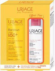 Урьяж барьесан набор крем для чувствительной кожи spf 50+ 50 мл + мицеллярная вода 100мл