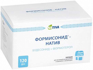Формисонид-натив 80мкг/4,5мкг 120 шт. порошок для ингаляций дозированный + устройство
