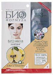Био формула маска для лица лифтинг айва/белый лен 20мл