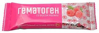 Гематоген со вкусом малины 30г