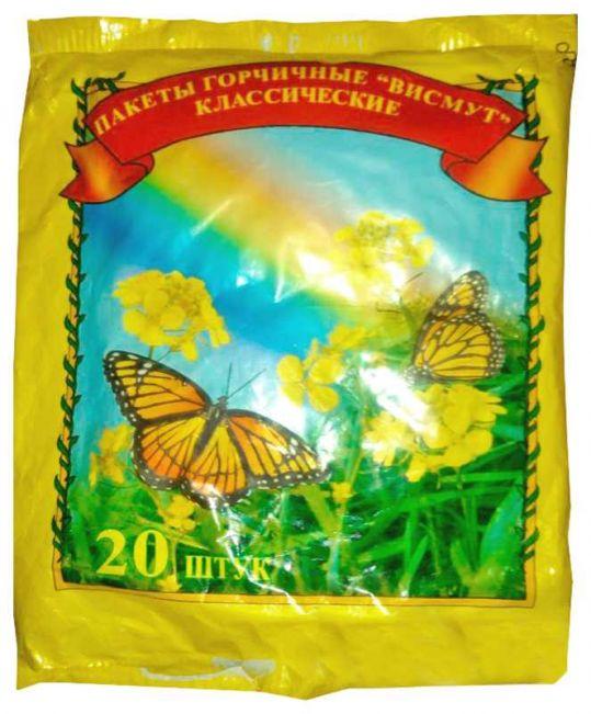Горчичник пакеты 20 шт., фото №1